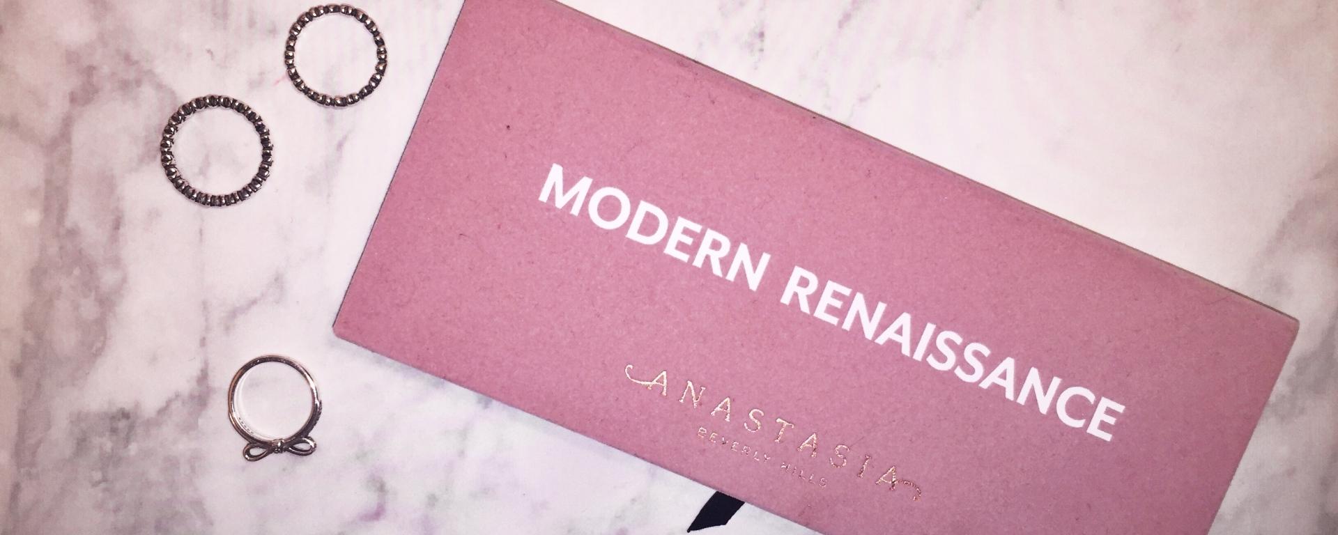 Anastasia Beverly Hills Modern Renaissance Palette Review