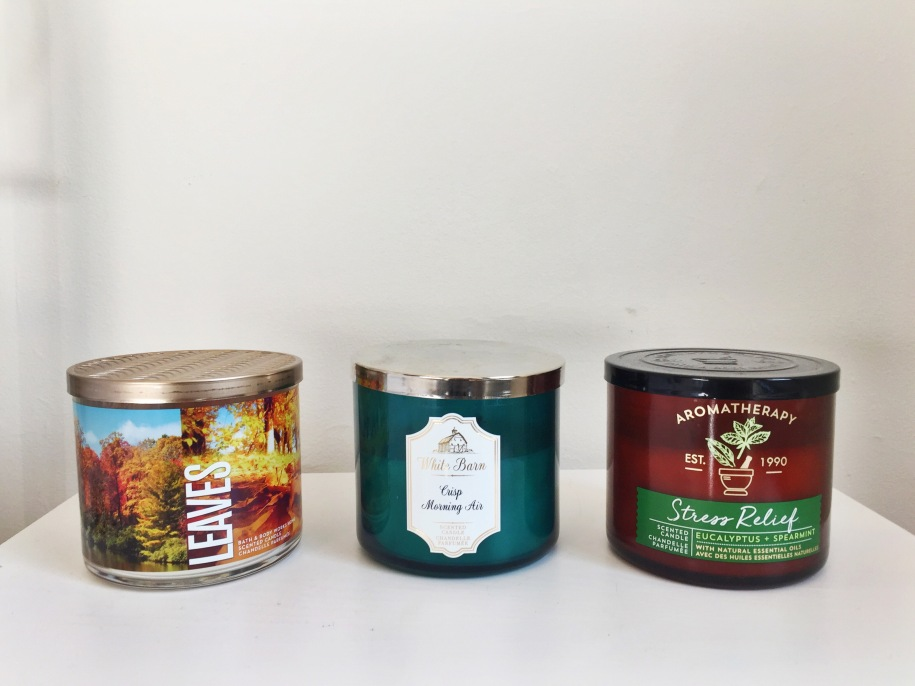 Bath and Body Works Fall Candle Picks